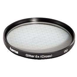 Фильтр Hama Special Effect 6x 77mm (сетчатый, эффект 6 лучей света, H-87277)