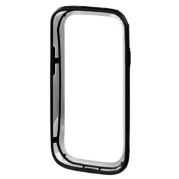Бампер Hama Edge Protector Black Transparent (для Samsung Galaxy S III, пластик, H-87792)