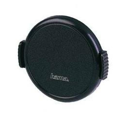 Крышка для объектива Hama SNAP М49 Black (D=49мм, пластик)