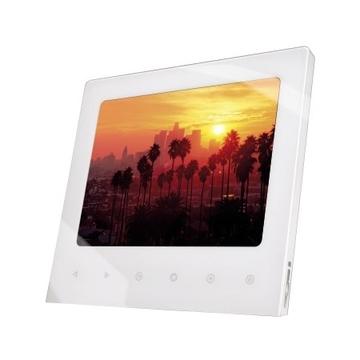 "Hama White (3.5"", 8.9 см, 320х234, 256 MB, SD/SDHC/MMC, miniUSB 2.0, аудио/радио/часы/будильник/календарь)"
