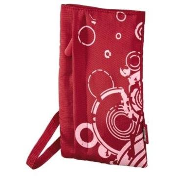 "Чехол Hama Red (для внешнего жесткого диска 2.5"", 8.6х1.5х16 см, нейлон, с орнаментом)"