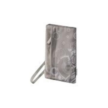 "Чехол Hama Grey (для внешнего жесткого диска 2.5"", 8.6х1.5х16 см, нейлон, с орнаментом)"