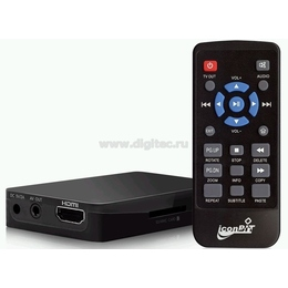 Медиаплеер iconBIT HTRAVEL T (FullHD 1080p, USB, card reader, HDMI 1.3, без HDD)