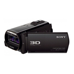 Sony HDR-TD30E Black