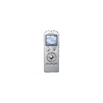 Sony ICD-UX532 Silver (2Gb, PCM/MP3, USB, до 1073ч., слот MicroSD, стерео микрофон, 1хAAA)