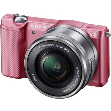 Sony ILCE-5000 Kit 16-50 Pink
