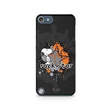 Футляр iLuv iCA6H381 Snoopy Black (для iPod Touch 5th Gen, жесткий пластик)