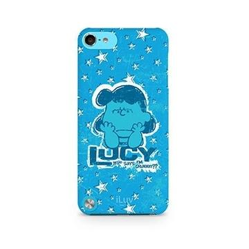 Футляр iLuv iCA6H381 Snoopy Blue (для iPod Touch 5th Gen, жесткий пластик)