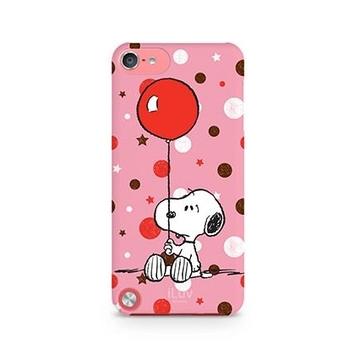 Футляр iLuv iCA6H381 Snoopy Pink (для iPod Touch 5th Gen, жесткий пластик)