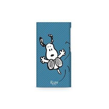 Футляр iLuv iCA6H384 Snoopy Blue (для iPod Nano 7th Gen, жесткий пластик)
