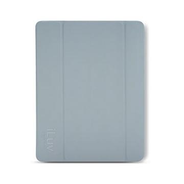 Чехол iLuv iCA8H343 Epicarp Grey (для iPad mini, магнитная обложка с функцией вкл/выкл экрана и подставка)