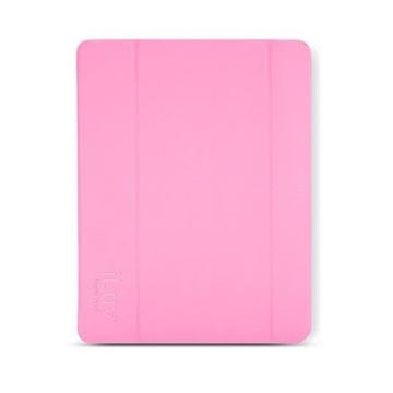 Чехол iLuv iCA8H343 Epicarp Pink (для iPad mini, магнитная обложка с функцией вкл/выкл экрана и подставка)