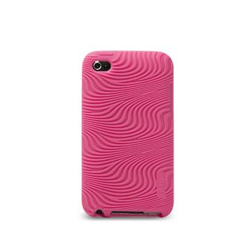 Футляр iLuv iCC613 Moxie Pink (для iPod Touch 4G, силикон)