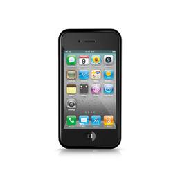Бампер iLuv iCC741 Edge Black (для iPhone 4S)