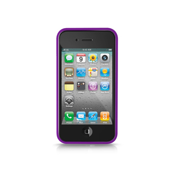 Бампер iLuv iCC741 Edge Purple (для iPhone 4S)