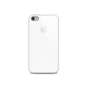 Футляр iLuv iCC743 Overlay White (для iPhone 4S, полупрозрачный мягкий пластик)