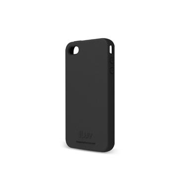 Чехол iLuv iCC746 Gelato Black (для iPhone 4S, мягкий пластик)
