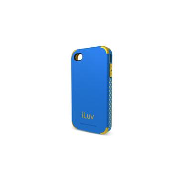 Чехол iLuv iCC760 Regatta Blue (для iPhone 4S, поликарбон/термопластик)