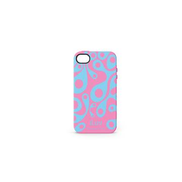 Футляр iLuv iCC765 Aurora Pink (для iPhone 4S, силикон)