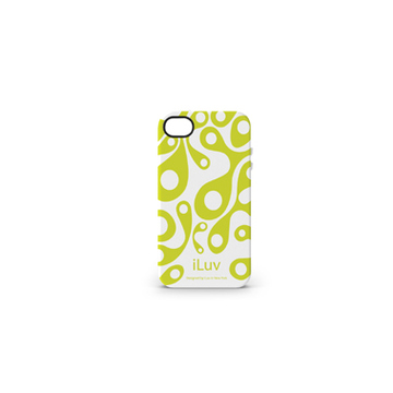 Чехол iLuv iCC765 Aurora White (для iPhone 4S, силикон)