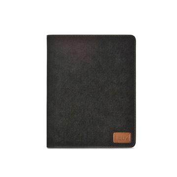 Чехол iLuv iCC834 Black (для iPad2/3, из джинсы, функция подставки)