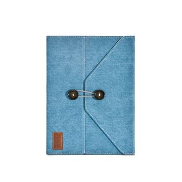 Чехол iLuv iCC837 Dungarees Blue (для iPad2/3, из джинсы, внутренняя отделка замша, функция подставки)