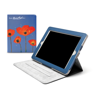 Чехол iLuv iCC838 Pangborn Art Flower (для iPad3, функция подставки)