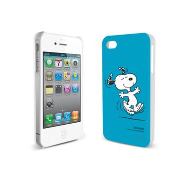 Футляр iLuv iCP751 Snoopy Character Blue (для iPhone 4S, жесткий пластик)