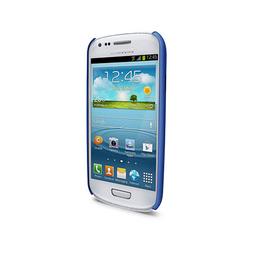 Футляр iLuv iCS7H313 Overlay Blue (для Samsung Galaxy S III Mini, полупрозрачный мягкий пластик)