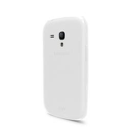 Футляр iLuv iCS7H313 Overlay White (для Samsung Galaxy S III Mini, полупрозрачный мягкий пластик)