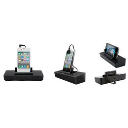 Докстанция iLuv iSP125 Black (для iPhone/iPod и других смартфонов, стерео, 3.5mm jack, 3xAAA)