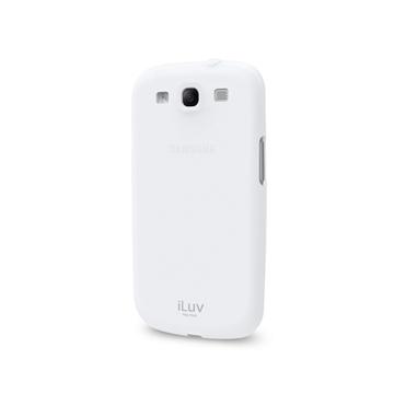 Футляр iLuv iSS259 Gelato White (для Samsung Galaxy S III, мягкий пластик)