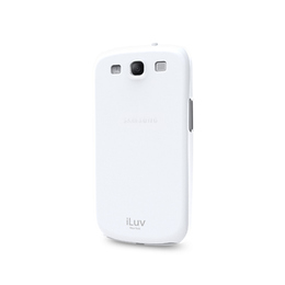 Футляр iLuv iSS260 Overlay White (для Samsung i9300 Galaxy S III, жесткий пластик)
