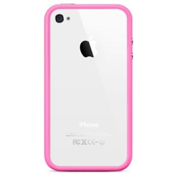 iPhone4 Bumper case Pink (оригинальный)