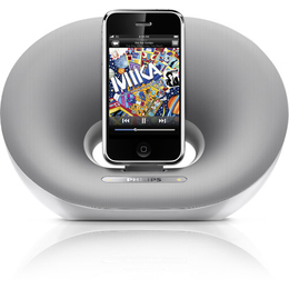 Аудиосистема Philips DS3000/12 черная (для iPhone, iPod)