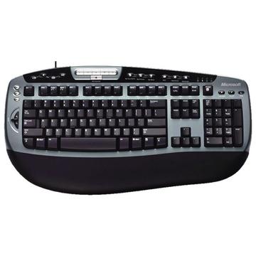 Microsoft Retail Digital Media Keyboard 3000 Black Grey