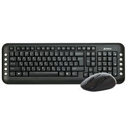 Комплект (клавиатура + мышь) A4 GL-1630 Iron Grey (GL-100+G7-630, беспроводной, 2.4G X-Far, USB, 81163)