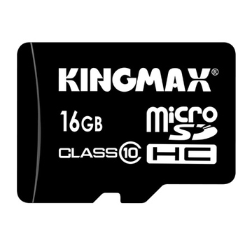 MicroSDHC 16Гб Kingmax Класс 10 (без адаптера)