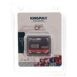 Compact Flash 04Гб Kingmax 133X (Hi-Speed)