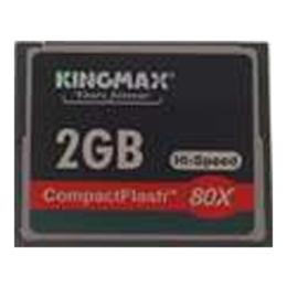 Compact Flash 02Гб Kingmax 80X