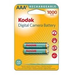 Аккумулятор Kodak K3ARDC-2 (никель-металлгидридный, 1000 мАч, HR03 (AAA), 1.2 В, 2 шт., в блистере, 20/240/18000)