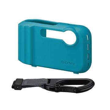 Чехол для фотоаппарата Sony LCJ-THG Blue (силикон, для фотокамеры DSC-TF1)