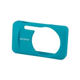 Чехол для фотоаппарата Sony LCJ-WB Blue (силикон, для фотокамеры Sony DSC-W630/W730/WX60/WX80/WX100/WX200)