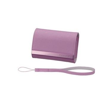 Чехол для фотоаппарата Sony LCS-CSVA Pink (для фотокамеры, 10.5x7.4x2.7см, кожа)