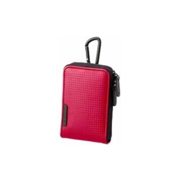 Чехол для фотоаппарата Sony LCS-CSVC Red (для фотокамеры, 85x125x20 мм, текстиль)