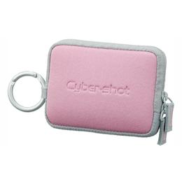 Чехол для фотоаппарата Sony LCS-TWE Light Pink (для фотокамер, с карабином)