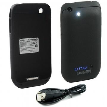 Футляр Lenmar BC3GS Black (футляр-аккумулятор для iPhone3G/3GS, 1300mAh]