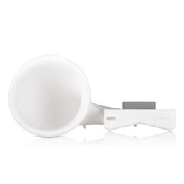 Подставка Bone Horn Stand Pro White (для iPhone 4/4S, резиновая, усилитель звука)