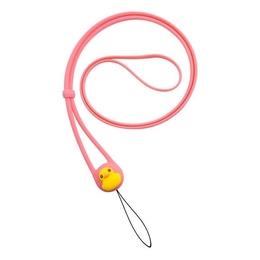Шнурок Bone Charm Lanyard Pink (для мобильного телефона/плеера, на шею, силикон)