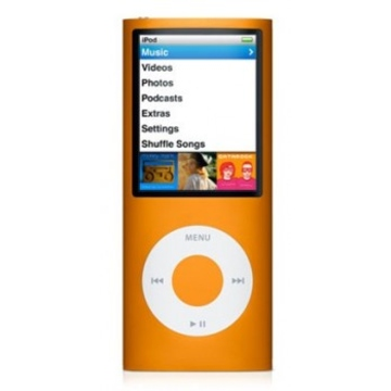 Apple iPod Nano 4th Gen 16GB Orange
